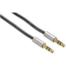 Hama 104542 AluLine Verbindungskabel 3.5mm...