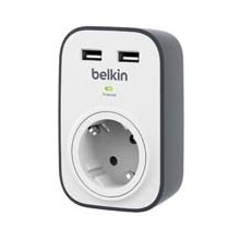 BELKIN SurgeCube с 2 x 2.4A общий USB...