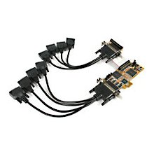 StarTech.com 8 Port PCI Express Low Profile...