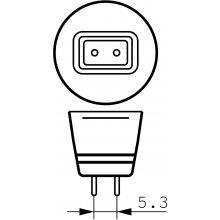 Philips Master LEDspotMV 4W-20W 827 GU5.3...