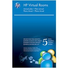 HP Virtual Rooms, 5U, 1Y, EN, Windows 7...