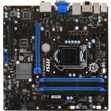 Emaplaat MSI CSM-Q87M-E43, DDR3-SDRAM, DIMM...