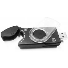 Кард-ридер Gembird Compact USB Flash + SIM...