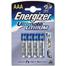 ENERGIZER liitium AAA L92 3+1szt