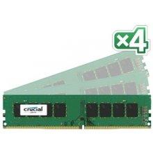 Mälu Crucial 32 Kit (8GBx4) GB, DDR4...