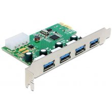 Delock PCI Expr Card 4x USB3.0 ext