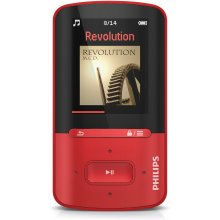 Philips SA4VBE04RF, MP4, Red, цифровой...