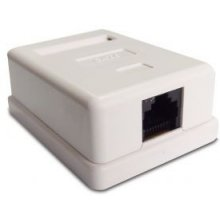 ASSMANN Surface mount box Cat.6 UTP 1 port...