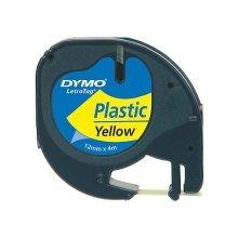 Dymo LetraTag Band Plastik 12mmx4m чёрный...