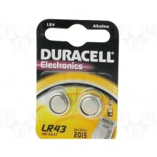 DURACELL Batterie Knopfzelle LR43 1.5V 2St