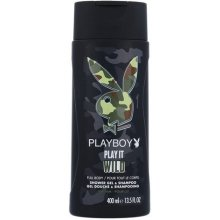 PLAYBOY Play It Wild for Him 400ml - гель...