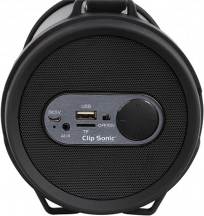 b22a170ae99 ClipSonic Compatible Bluetooth® boombox kõlar TES162 kõlar type Portable,  USB, Bluetooth version v2.1, Black, 12 W