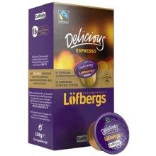 Kapslid Löfbergs Lila 16 x 8g espresso -...
