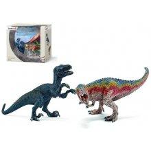Schleich Dinosaurs T-Rex и Velociraptor...