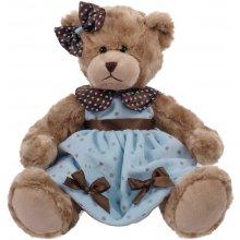 Beppe Bear Daisy blue peas velor 33 cm