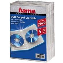 Диски Hama DVD-Doppel-Leerhüllen transparent