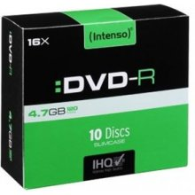 Диски INTENSO DVD-RW 4.7GB 4X 10er Pack