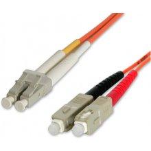 StarTech.com 1m 50/125 Multimode LC-SC Fiber...