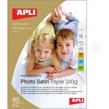 Apli Fotopaber Satin A4 240g/m2, 25 lehte...