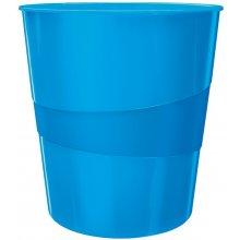 Leitz Paberikorv Plus WOW 15L, blue