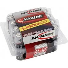 Ansmann 1x20 Alkaline Mignon AA LR 6...