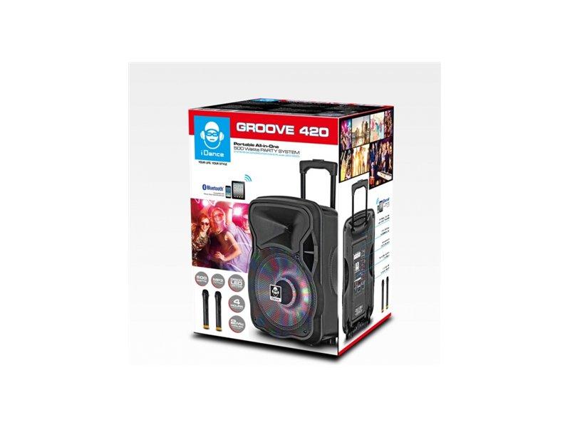 588d558eeb3 Kõlarid IDance Groove 420 Black, Bluetooth kõlar GROOVE420 - OX.ee
