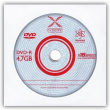 Диски Extreme DVD-Rx16 4,7GB envelope 1