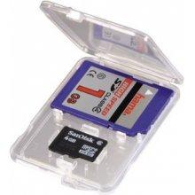 Hama SD и microSD Slim Box transparent