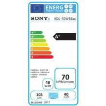 Телевизор Sony KDL-40WE665B