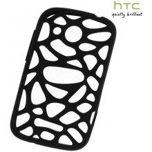 HTC Kaitseümbris Desire C, silikoon, must