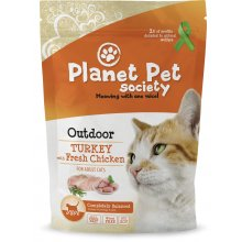 PLANET PET SOCIETY Turkey for Outdoor Cats -...