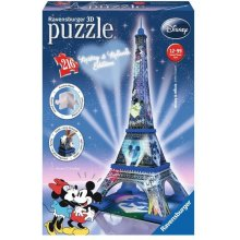 RAVENSBURGER 216 EL. Eiffel Tower Mickey ja...