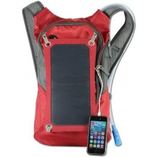 SUNEN Backpack+solar panel 7W punane, 1,8l...