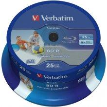 Toorikud Verbatim 1x25 BD-R Blu-Ray 25GB 6x...