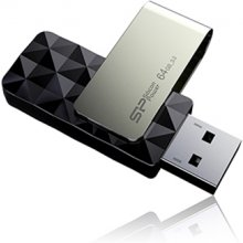 Mälukaart SILICON POWER Blaze B30 64 GB, USB...