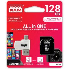 Флешка GOODRAM microSDXC Card 128GB 4 in 1...