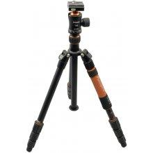 Statiiv Rollei Fotopro C5i II + T3S oranž