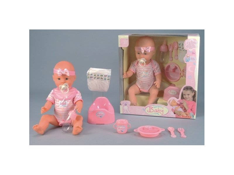 9a3790cb2a6 SIMBA New Born Baby Funky Doll 43 cm SI-5039005 - 01.ee