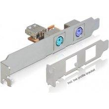 Delock Rear Bracket USB(F)-> 2x PS/2 + Low...