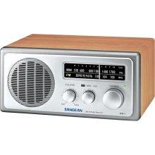Радио Sangean WR-1 серебристый / walnuss