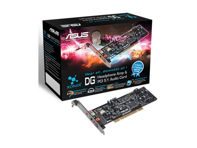 788740bb127 Helikaart Asus Xonar DG SI PCI, 5.1 90-YAA0K0-0UAN0BZ - 01.ee