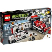 LEGO Speed Porsche 919 Hybrid ja 917KPit...