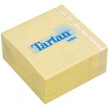3M Märkmekuup Tartan 76x76mm, kollane, 400l