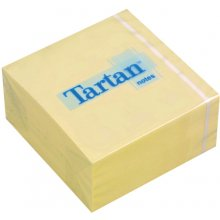 3M Märkmekuup Tartan 76x76mm, жёлтый, 400l