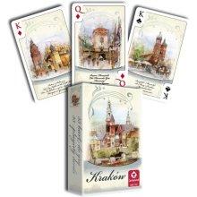 Cartamundi kaardid Krakow watercolor 55...