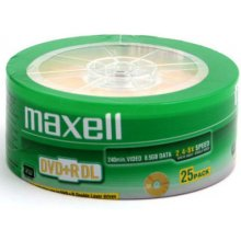 Toorikud Maxell DVD+R 8,5GB 8X DOUBLE LAYER...