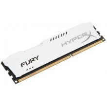 Mälu KINGSTON DDR3 HyperX Fury valge 4GB...