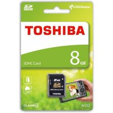 Mälukaart TOSHIBA SDHC 8GB CL4 High Speed...