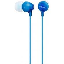 Sony EX series MDR-EX15AP In-ear, Blue