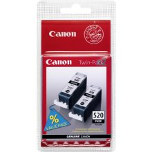 Тонер Canon PGI-520BK Twin Pack чёрный...